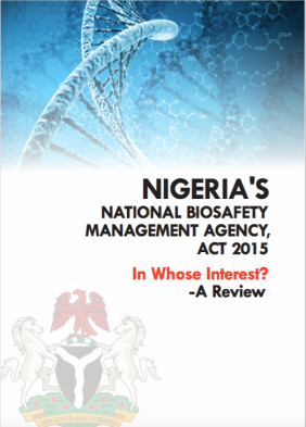 Biosafety Act review