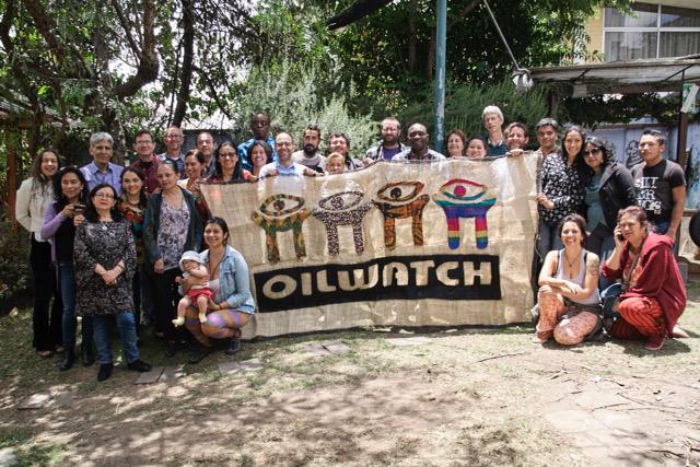 asamblea de oilwatch en octubre de 2016