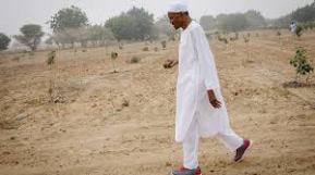 President as farmer