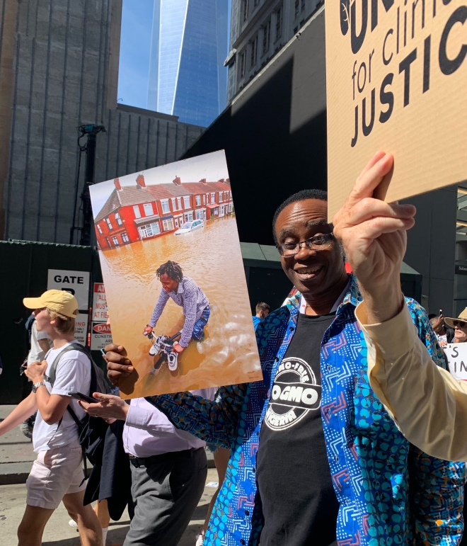 Marching in NYC 20.09.19